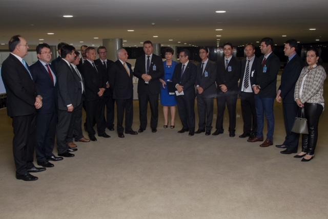 22/05/2018 Encontro com Prefeitos | (Brasília - DF, 22/05/2018)  Presidente da República, Michel Temer, durante encontro com Prefeitos no Palácio do PlanaltoFoto: Cesár Itiberê/PR